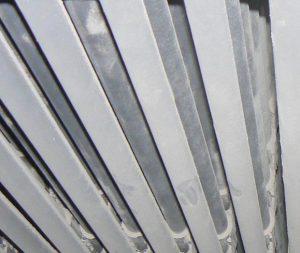 重曹ブラストによるボイラーチューブの清掃メンテナンス 施工後