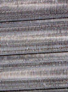 重曹ブラストによるエアーフィンチューブの清掃メンテナンス 施工後