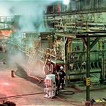 重曹ブラストによる工場設備メンテナンス施工例