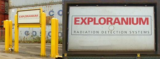 EXPLORANIUM社製放射線検知機を既設利用で安価に流用更新