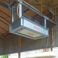 岡山県T社様放射線検出器の点検作業